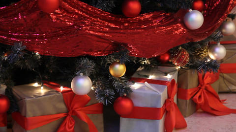 Christmas And New Year Party ( Gifts ! ) stock footage
