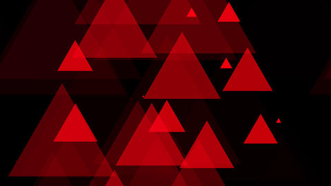 tileable red triangle elements with alpha Animation
