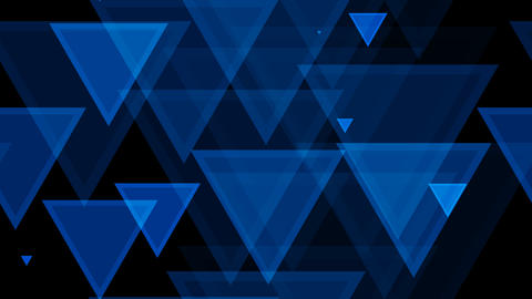 tileable triagonal blue pattern with alpha Animation