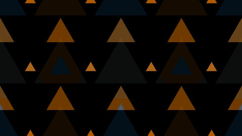 tileable triangle gold pattern with alpha Animation