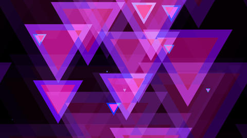 tileable triagonal pink shape with alpha Animation