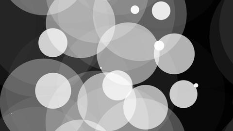 tileable white circle background with alpha Animation