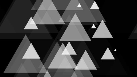 tileable white triangle element with alpha Animation