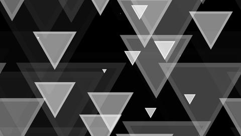 tileable triagonal white pattern with alpha Animation