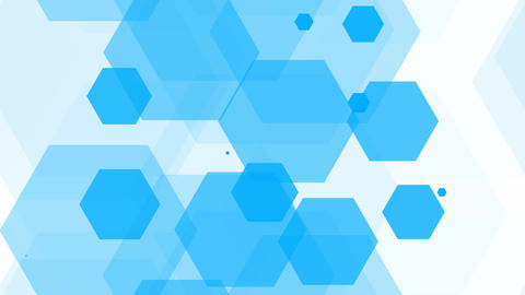 tileable blue overlay hexagonal Animation