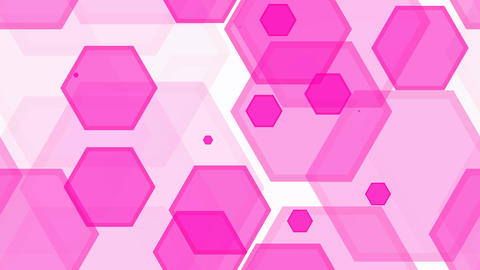 tileable pink hexa decoration Animation