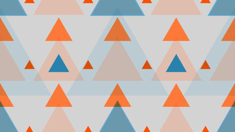 tileable triangle retro pattern Animation
