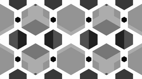 tileable black soft honeycomb Animation