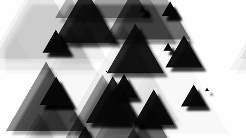 tileable black triangle pop Animation