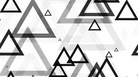 tileable triangle black pop Animation