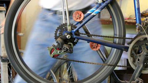 Bike repairing Footage