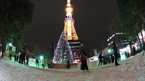 japan hokkaidou sapporocity snow festival ライブ動画