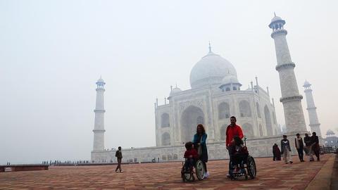 20140223 dk Taj Mahal Agra 0040 Footage
