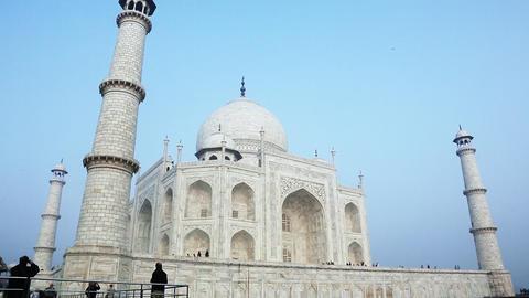 20140223 dk Taj Mahal Agra 0052 Footage