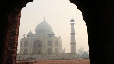 20140223 dk Taj Mahal Agra 0057 ビデオ