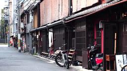Kyoto alley Footage