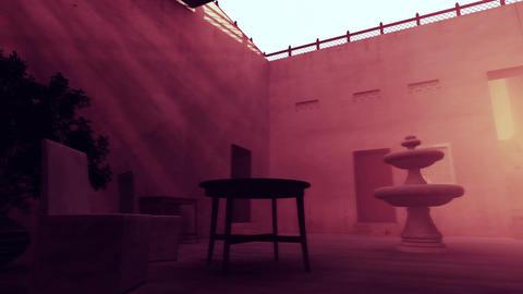 4 K Mysterious Empty Mid Eastern Oriental Market 3 Animation