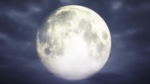 Full Moon 3 D Animation 1 Animation