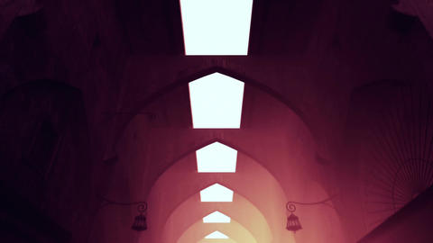 Mysterious Empty Mid Eastern Oriental Market 3 D A Animation