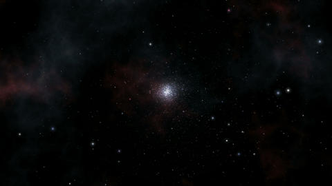 Star Cluster Opener stock footage