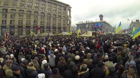 Беспорядки, революция, пртоесты, Владимир К Footage