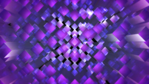 purple square optic Animation