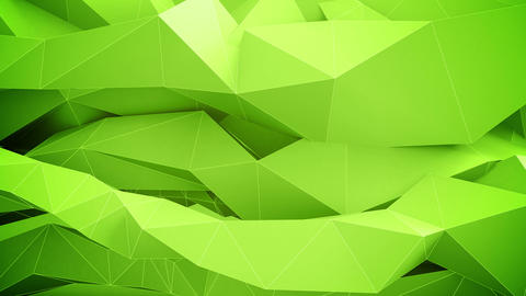 Abstract Green Background. Seamless Loop stock footage