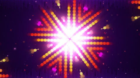 Dance Background Loop 動画素材, ムービー映像素材