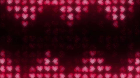 Hearts LED 007 Jaws stock footage
