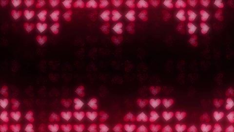 Hearts LED 007 Jaws Animation