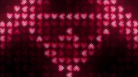 Hearts LED 008 Triangles Animation