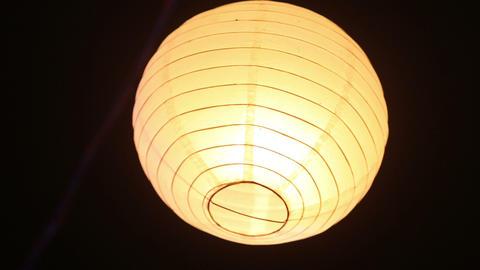 Chinese Lantern Shines stock footage