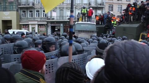 """Revolution in Ukraine - (news from Ukraine). Кадры с """"беркутом"""" Footage"""