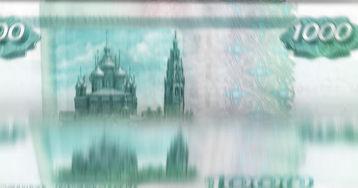[loopable] Counting Money Fast stock footage