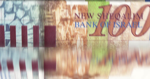 [loopable] Banknotes Counting Machine stock footage