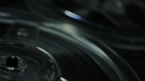 1080p Ungraded: Reel-To-Reel Tape Recorder Footage
