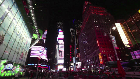 Times Square New York City NY United States Of Ame Footage
