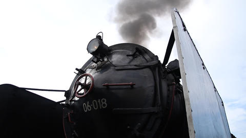 Steam train Footage
