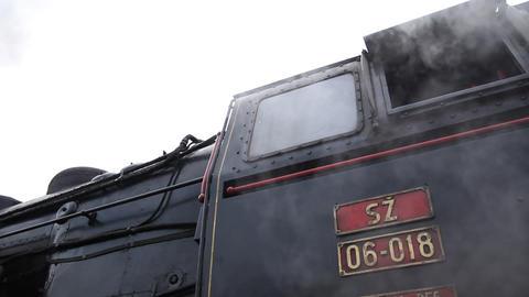 Steam train cabine Live Action