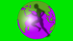 ROTATING GLOBE Animation