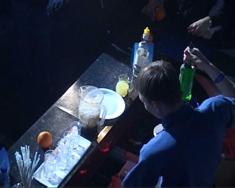 bar nightclub Stock Video Footage
