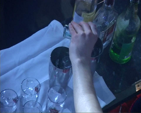 bar nightclub Stock Video Footage