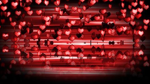 Hearts Mirror 03 Stock Video Footage
