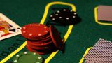 Poker 01 Dolly stock footage