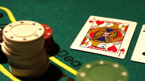 Poker 03 royal pan right Footage