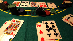 Poker 05 dolly Stock Video Footage