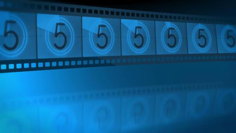 Reel film leader Stock Video Footage