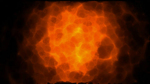 supernova explosion in... Stock Video Footage