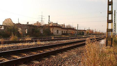 Junk Environment at Railway 02 suburban area Live Action