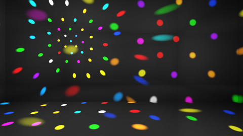 Disco Light Ac HD Stock Video Footage